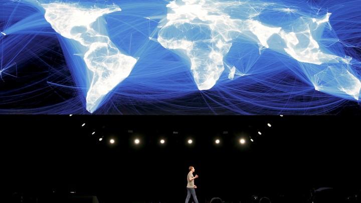 Facebook lập bản đồ thế giới
