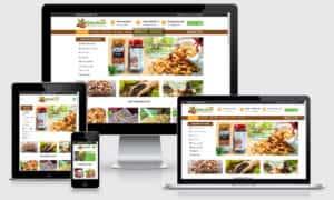 website nông sản