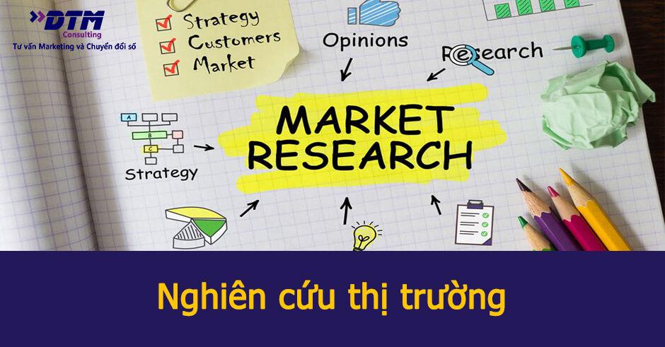 Nghiên cứu thị trường là gì? Phương pháp - Lợi ích - Cách làm - Dịch vụ |  DTM Consulting