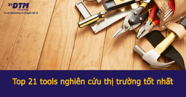 Top 21 tools nghiên cứu thị trường tốt nhất