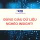 giàu dữ liệu nghèo insight