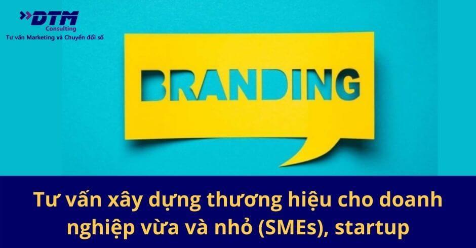 Tư vấn xây dựng thương hiệu cho doanh nghiệp vừa và nhỏ (SMEs), startup